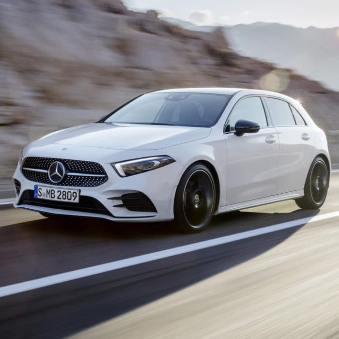 Vidéo lancement de produit – Mercedes Classe A